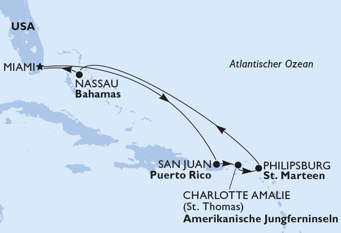 Karibik Route