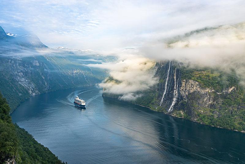Route Norwegen mit Nordkap