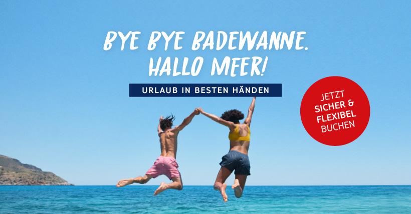 Bye Bye Badewanne. Hallo Meer!